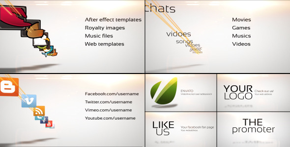 After Effects Project - VideoHive The Promoter 3289219