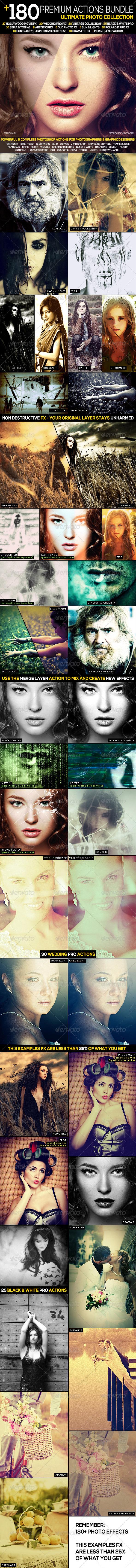 GraphicRiver 180& Premium FX Action Bundle Ultimate Collection 3254032