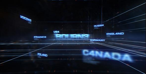 VideoHive Bourne 3291097