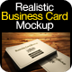 Photo Realistic Business Card Mock-up Pack - GraphicRiver Item for Sale