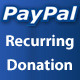 PayPal Recurring Online Donation Form - CodeCanyon Item for Sale