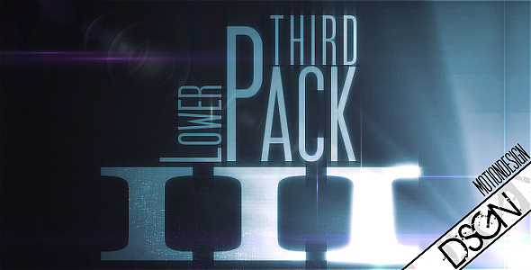 After Effects Project - VideoHive Lower Third Pack Vol.3 FullHD 116198