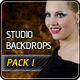 Studio Backdrops Pro: Pack I - GraphicRiver Item for Sale