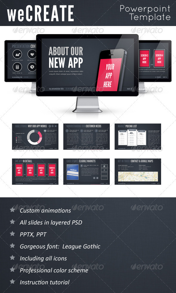 GraphicRiver WeCreate PowerPoint Template 3295188