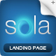 Sola - Landing Page Template - ThemeForest Item for Sale