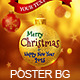 Christmas Ball Poster/plyer Background - GraphicRiver Item for Sale