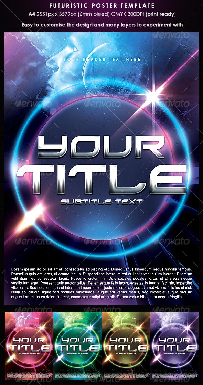 GraphicRiver Futuristic Poster Template 116647