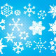 Xmas Snowflakes Seamless Pattern - GraphicRiver Item for Sale