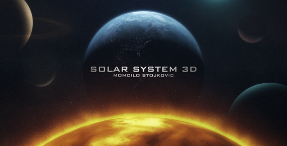 VideoHive Earth 3D and Solar System 3303756