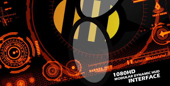 VideoHive Modular HUD Interface 3309098