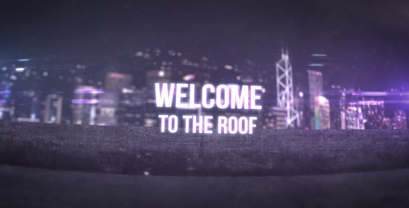 After Effects Project - VideoHive Welcome To The Roof 3300010