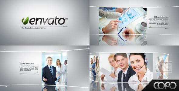 VideoHive Simple Presentation 3297824