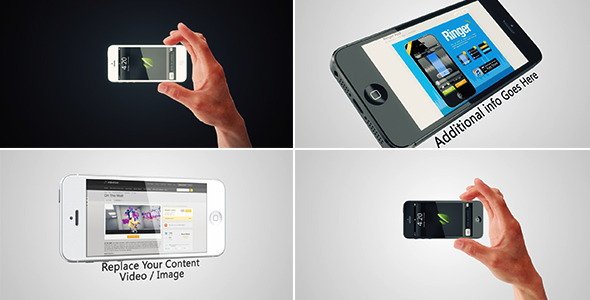 After Effects Project - VideoHive Phone 5 Promo 3203087