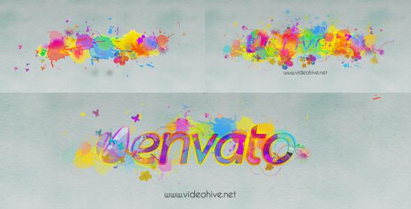 VideoHive Logo Revealer Paint Drops Design 3318308