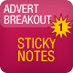 Advert Breakout | Sticky Notes Edition - ActiveDen Item for Sale