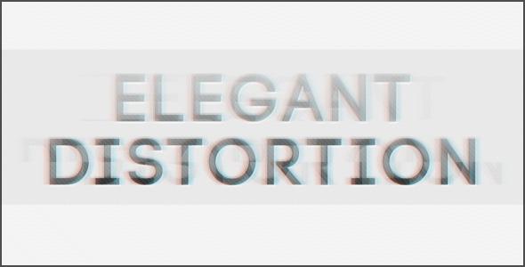 VideoHive Elegant Distortion 3308087