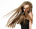 teen girl shaking head with long hair - PhotoDune Item for Sale