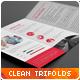 Clean Multipurpose Corporate Trifold Templates