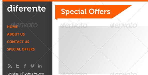 GraphicRiver Diferente e-Newsletter 3305160
