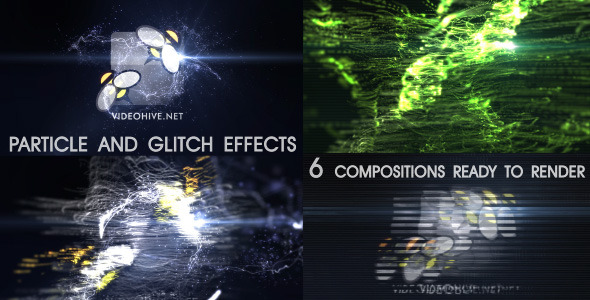 After Effects Project - VideoHive Particle Effect 7 Elegant style and Glitc ...