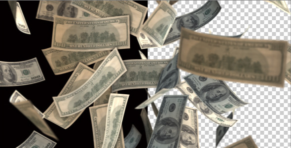 VideoHive Money Tornado 3314683