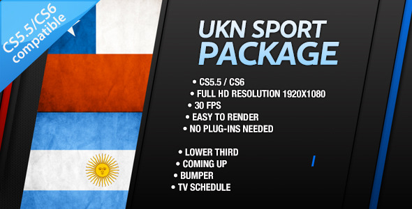 After Effects Project - VideoHive UKN Sport Branding Package 3318138