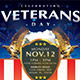 Veterans Day Flyer Template - GraphicRiver Item for Sale