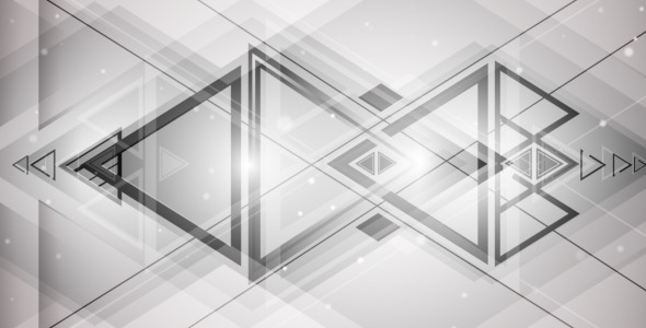 VideoHive Intersecting Triangles 3332510