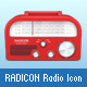 Radicon Radio Icon - GraphicRiver Item for Sale