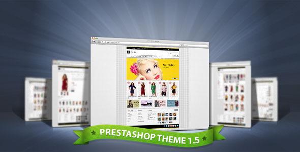 ThemeForest Dotted Premium Prestashop Theme 3305929