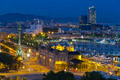 panorama of the city of Barcelona Spain - PhotoDune Item for Sale