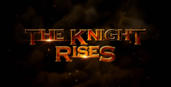 After Effects Project - VideoHive The Knight Rises Cinematic Trailer 334506 ...