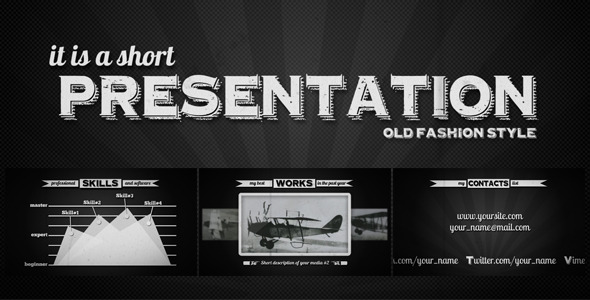 After Effects Project - VideoHive Retroscope 3345622