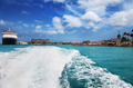 Oranjestad harbor, Aruba - PhotoDune Item for Sale