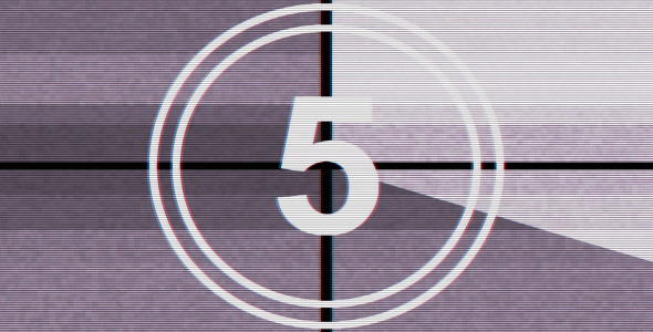 VideoHive Film Leader Countdown Clock 3 3346443