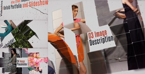 VideoHive Unfold Portfolio and Slideshow 3352261