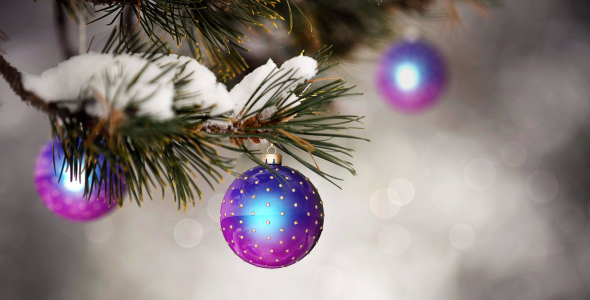 VideoHive Christmas Background 06 3352960