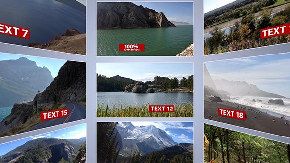 VideoHive Circular Video Wall 3352988