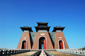 China Gate, traditional Chinese ancient building against blue sky - PhotoDune Item for Sale