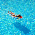 Girl in swimming pool - PhotoDune Item for Sale