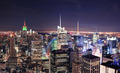 New York City Manhattan skyline at night - PhotoDune Item for Sale