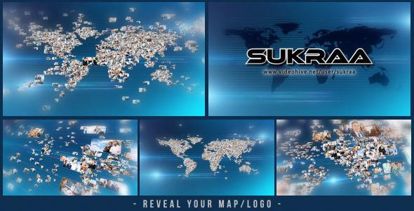 VideoHive Business World Logo Revealer 3361611