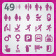 49 AI and PSD Navigation Icons - GraphicRiver Item for Sale