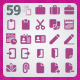 59 AI and PSD Work Icons - GraphicRiver Item for Sale