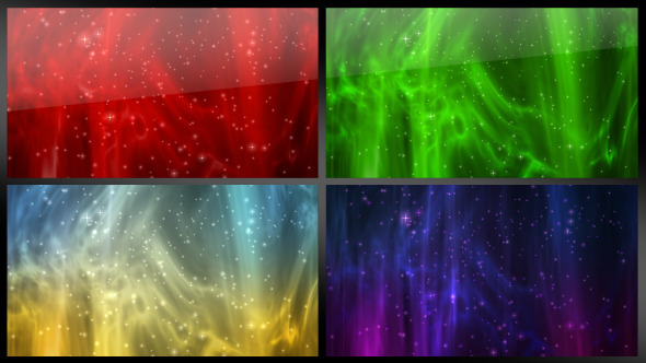 VideoHive Abstract Backgrounds Four Color Versions 3364145