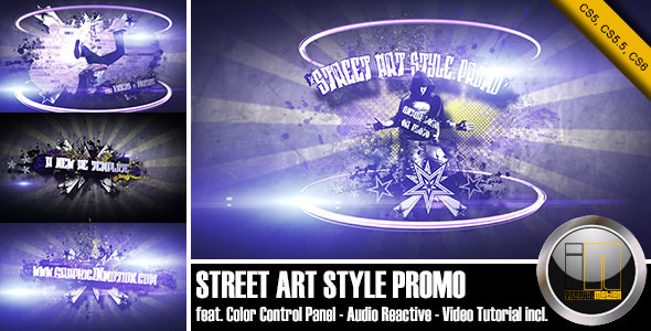 After Effects Project - VideoHive Street Art Style Promo 3364286