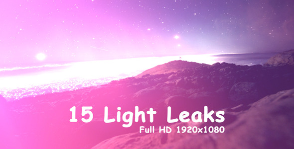 VideoHive Light Leaks 2 15-Pack 3365311