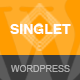 Singlet | One Page Responsive WordPress Theme - ThemeForest Item for Sale