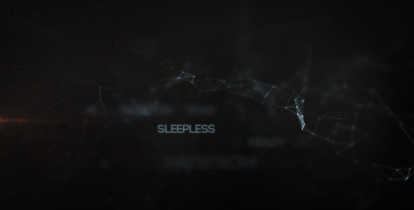 After Effects Project - VideoHive Sleepless 3372483