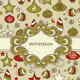 Vector Seamless Christmas Pattern with Frame - GraphicRiver Item for Sale